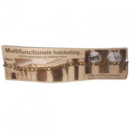 Multi-function Golden Collar Belt