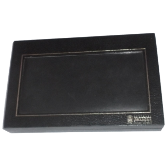 Contessa da Vinci Di Roma Leather Wallet Black Boxed