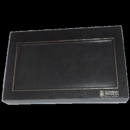 Contessa da Vinci Di Roma Leather Wallet Black Boxed