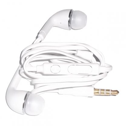 Earphones-In-ear-Earbuds-Earpiece-Stereo-With-Microphone-For-Mobile-Phones-White